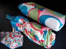 Coach Soho Scarf Signature Multi Print Compact Umbrella NWT