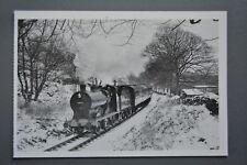 R&L Postcard: Modern Tom Heavyside Card, Keighley & Worth Valley Railway