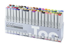 Copic Sketch Marker - 72D Manga Marker Set-Rechargeables avec COPIC divers encres