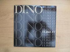 "DINO - I LIKE IT Vinyl 12"" 33RPM US 1989 Electronic, Hip Hop VG+ VG+  BWAY 483"