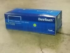 Ansell Dura-Touch Vinyl Gloves - Clear -34-500 - Small - 100/Box