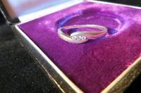 Bildschöner Zirkonia Designer 925 Silber Ring