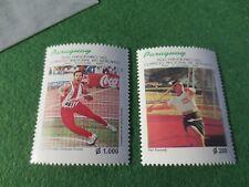 Paraguay #2565-6  Olympics track & field Neri Kennedy Ramon Gaona    MNH