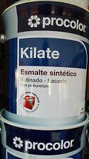 ESMALTE  LACA DE POLIURETANO KILATE SATINADO PROCOLOR 4L. COLOR BLANCO
