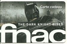 RARE / CARTE CADEAU : BATMAN - THE DARK KNIGHT / CARD