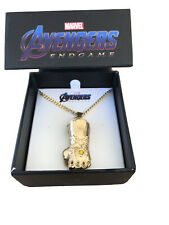 ThinkGeek Collectibles Thanos Infinity Gauntlet Pendant New