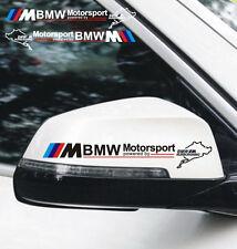 4 PCs Motorsport Window Decal Vinyl Car Sticker Emblem Badge Sport Logo For BMW
