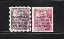 ESPAÑA. Año: 1951. Tema: VISITA DEL CAUDILLO A CANARIAS.
