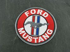 Patches Aufbügler Aufnäher Ford Mustang V8 Big Block V8 Motor Bügelpatch