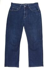 Canali Made in ITALY Indigo Blue Cotton Blend 5 Pocket Denim Jeans 32