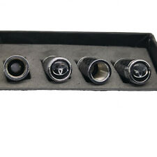 Genuine Carbon Fiber Valve Stem Cap for Toyota, black top, corolla, camry, supra