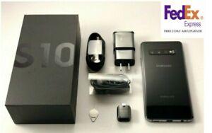 SAMSUNG S10 SM-G973U 128GB BLACK WHITE BLUE PINK UNLOCKED VERIZON AT&T T-MOBILE