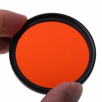 RISE(UK) 49mm Full Orange Color Conversion Lens Filter Mount for DSLR SLR Camera