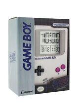 Nintendo Gameboy Replica Alarm Clock with Official Sounds Gray