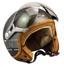 Soxon Sp-325-plus Titanium · Vintage Vespa Bobber Cruiser Helmet Urban...