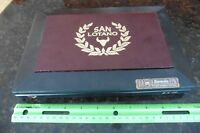 San Lotano Cigar Empty Wooden humidor Storage hinged Box Hand Made in Nicaragua
