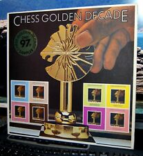 "VARIOUS.  ""CHESS GOLDEN DECADE""  CHESS UK 1980 LP SAMPLER. NM"