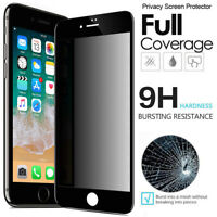 For iPhone 8 7 6s 6 Plus Caseswill 10D Tempered Glass Privacy Screen Protector