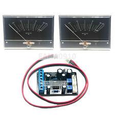 2pcs M-5000R Onkyo HIFI Power Amplifier VU Panel DB Level Meter w/Driver Board