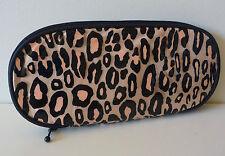 MAC Gold Animal Print Makeup / Brush Bag, Designed by Liz Goldwyn, Brand NEW!