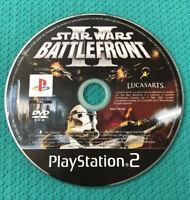 STAR WARS BATTLEFRONT II 2 PS2 - PlayStation 2 GAME - DISC ONLY - UK PAL