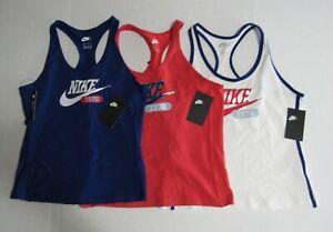 Nike Womens Sportswear Heritage Tank Tops CZ9086 Nwt