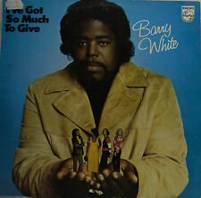 """BARRY WHITE - JE VE GOT SO MUCH TO GIVE 12"""" LP (T 638)"""