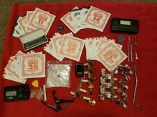 Great Guitar accessories lot - Over 20 new strings - Tuners - & Much more
