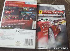 Ferrari Challenge Deluxe Nintendo Wii Racing Simulator