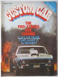 Custom Car August 1972 Triumph GT6 Chrysler Hunter GLS Fiat 132 Keith Moon
