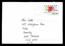 Spain 2005 Airmail Cover To UK #C2141