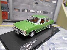 OPEL Rekord D Limousine grün green met. 1975 jade Minichamps 1:43