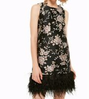 Kate Spade Madison Ave Floral/feathers chinoiserie pamella dressBNWT size 2 $598