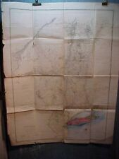 New ListingOrig 1849 Version of 1779 Map of Province of New York in North America 40 x 32