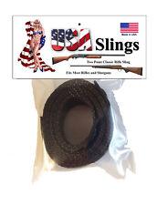 Rifle Sling Charcoal - 2 Point Gun Sling
