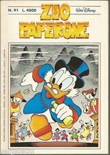 ZIO PAPERONE n° 91 -CARL BARKS E I SUOI EREDI  - APRILE 1997  - RARO