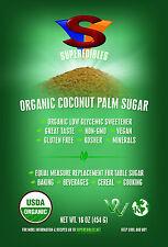 Organic Coconut Palm Sugar - 8 - 1lb bags