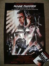 """BLADE RUNNER"" (Harrison Ford_Star Wars) Large Factory Folded Movie Film Poster"