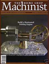 Home Shop Machinist Magazine Vol.24 No.6 November/December 2005