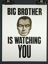 BIG BROTHER is WATCHING YOU, George Orwell's 1984 Print