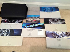 2007 MERCEDES BENZ E CLASS E200 250 300 500 Owners Manual SET W CASE FACTORY