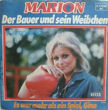 """7"""" 1976 CV MINT- ! MARION : Der Bauer und sein Weibchen"""