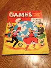 Games from Around The World Book For Boys &Girls--1960-- Paxton-Slade Publishing