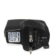 UK USB TO MAINS CHARGER ADAPTER POWER PLUG FOR SAMSUNG GALAXY S4 I9500 IV NOTE 3