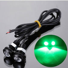 "Green LED BOAT PLUG LIGHT GARBOARD BRASS DRAIN 3/4"" NPT MARINE UNDERWATER FISH"