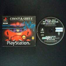 Ghost in the Shell PlayStation UK PAL inglés ・ ♔ ・ Blockbuster de alquiler completa PS1