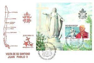 Ersttagsbrief FDC Papst Juan Pablo II Santidad Argentinien 1987