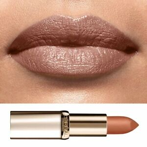 L'Oréal Nude Gold Lipstick Beige Natural Tan Shimmer Color Riche