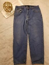 Calvin Klein Mens Jeans Easy Fit Straight Leg Medium Wash Size 38
