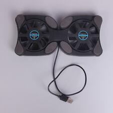 "Laptop octopus usb cooling notebook 2 fans cooler pad foldable fan 10""-14"" STDE"